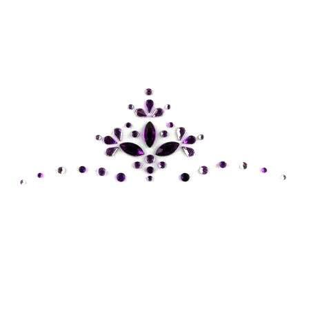 Face Jewels 005 Purple Lilac