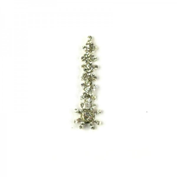 High End Bindis 001 Silver
