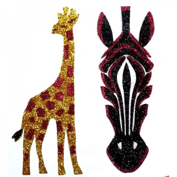 African Animal Decals 002