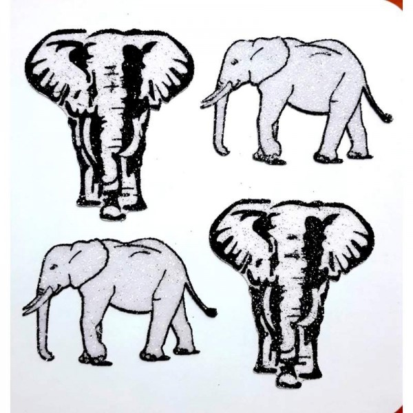African Animal Decals 003