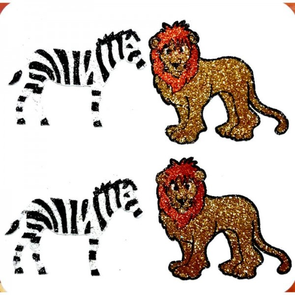 African Animal Decals 004