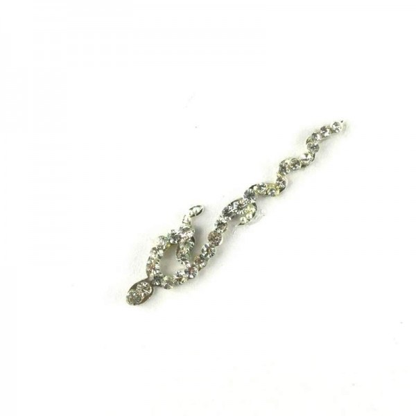 High End Bindis 006 Silver