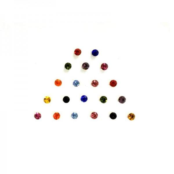 Dot Bindi 016 Multicolored