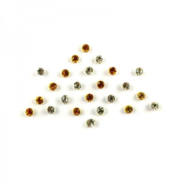 Dot Bindi 017 Gold Silver