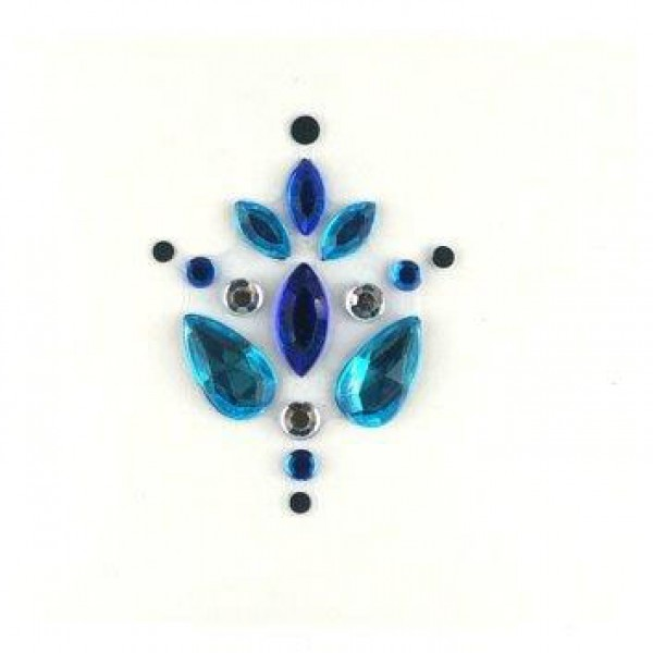 Face Jewels 001 Blue Turquoise