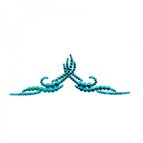 Crystal Arm Band 01 Turquoise