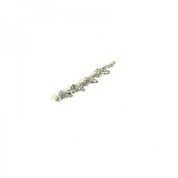 High End Bindis 023 Silver
