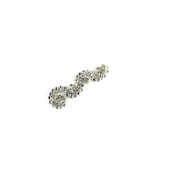 High End Bindis 026 Silver
