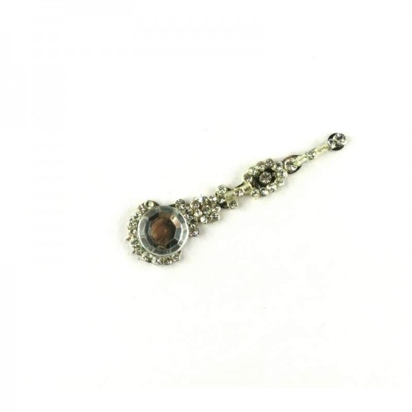 High End Bindis 027 Silver