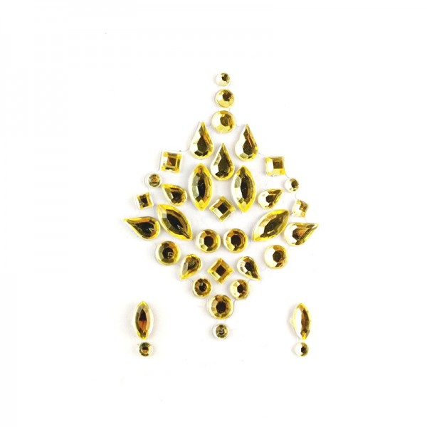 All gold face jewels 002