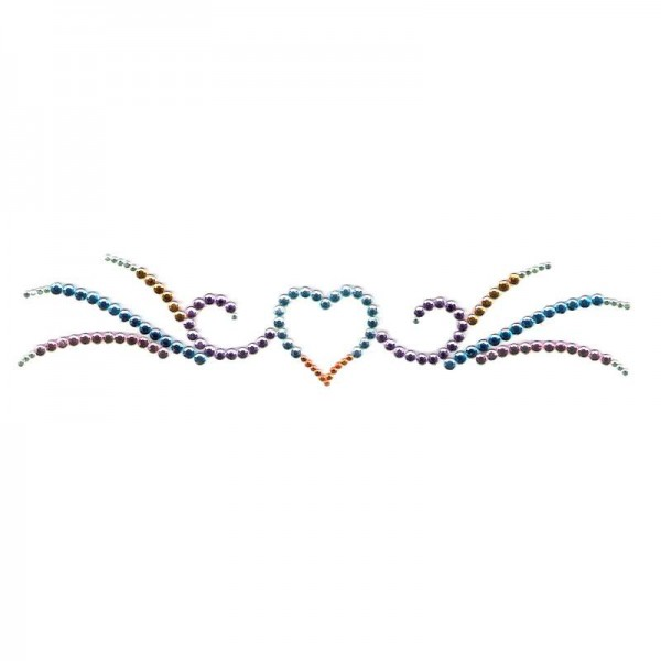Crystal Arm Band 02 Multicolored
