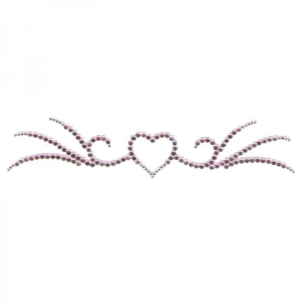 Crystal Arm Band 02 Pink