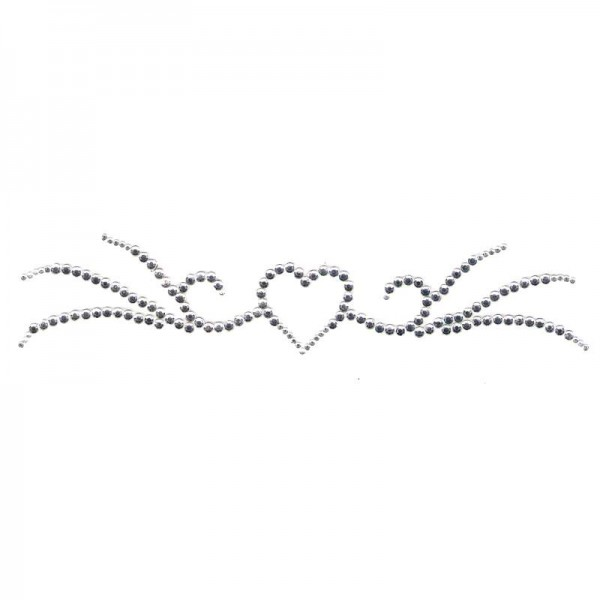 Crystal Arm Band 02 Silver