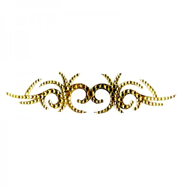 Crystal Arm Band 05 Gold