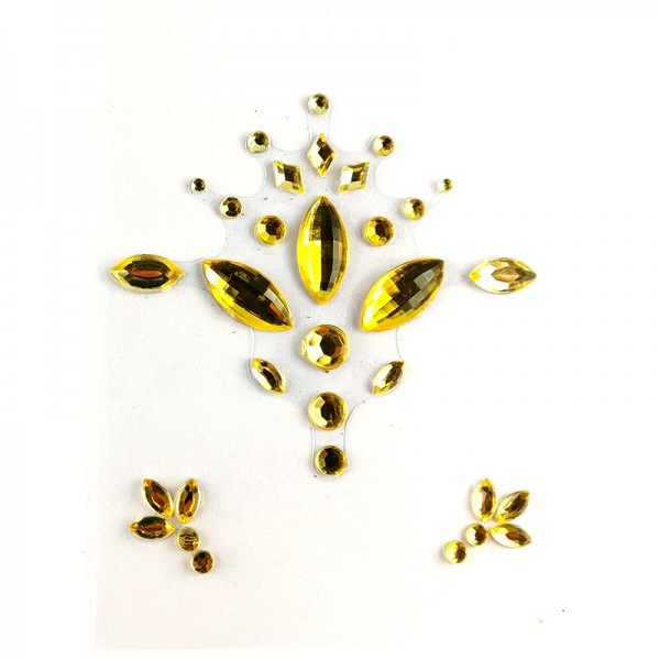 All gold face jewels 009