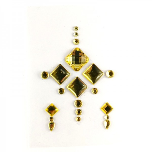All gold face jewels 011